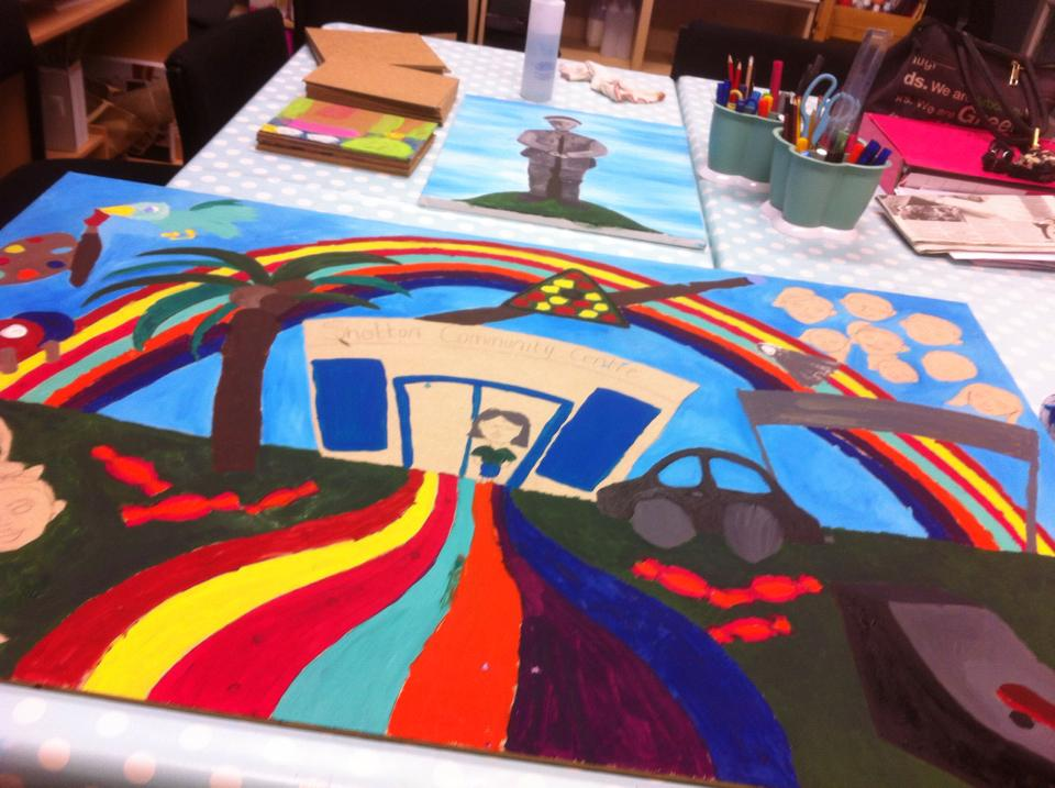 YouthArts_ShottonCommunityCentre_2016_Let'sCreate