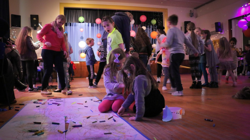 Kaleidoscope Party at Blackhall Community Centre, Tuesday 3 April 2018
