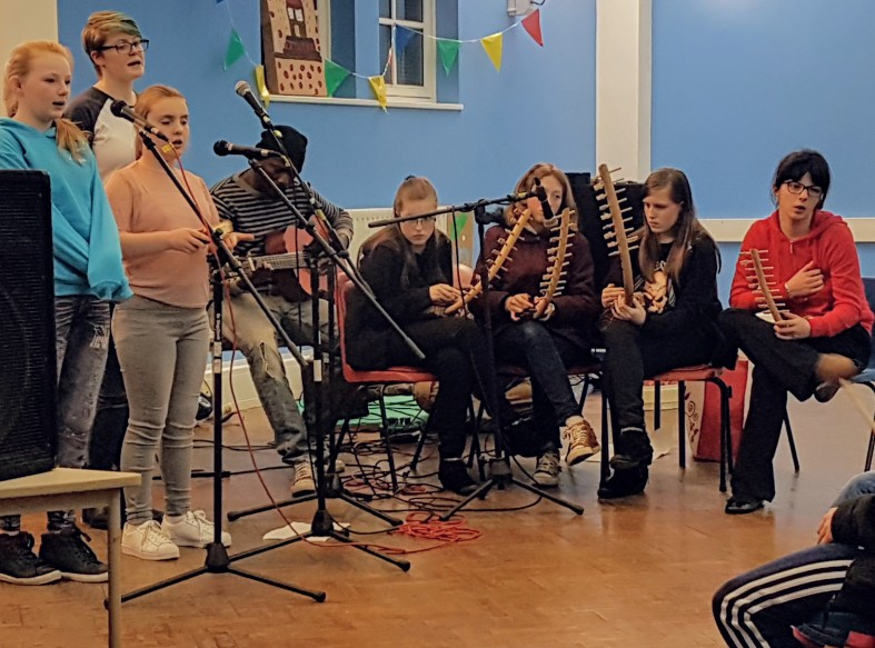 Dawdon Youth Centre performance Dec 2017