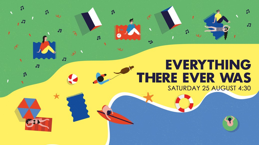 Everything There Ever Was - 4.30pm start on Saturday 25th August at Crimdon Dene