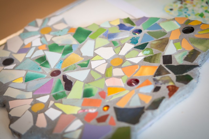 Making Time: Mosaics, Seaham Day Centre June/July 2018