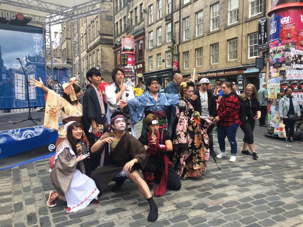 Go & See: Edinburgh Fringe Festival 8th August 2018