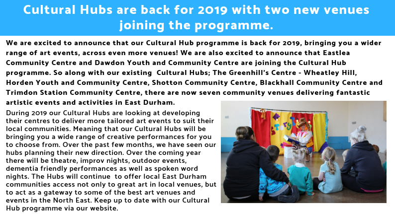 East Durham Creates Spring Newsletter. (8)